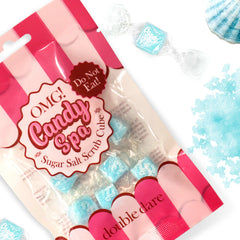 OMG! CANDY SPA Sugar Salt Scrub Cube (6 cube in a bag) - DOUBLE DARE