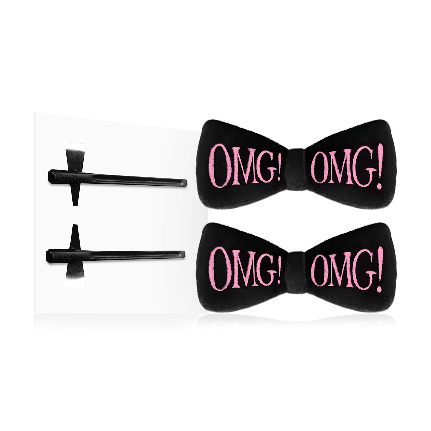 OMG! HAIR UP<br>BOW PIN - DOUBLE DARE