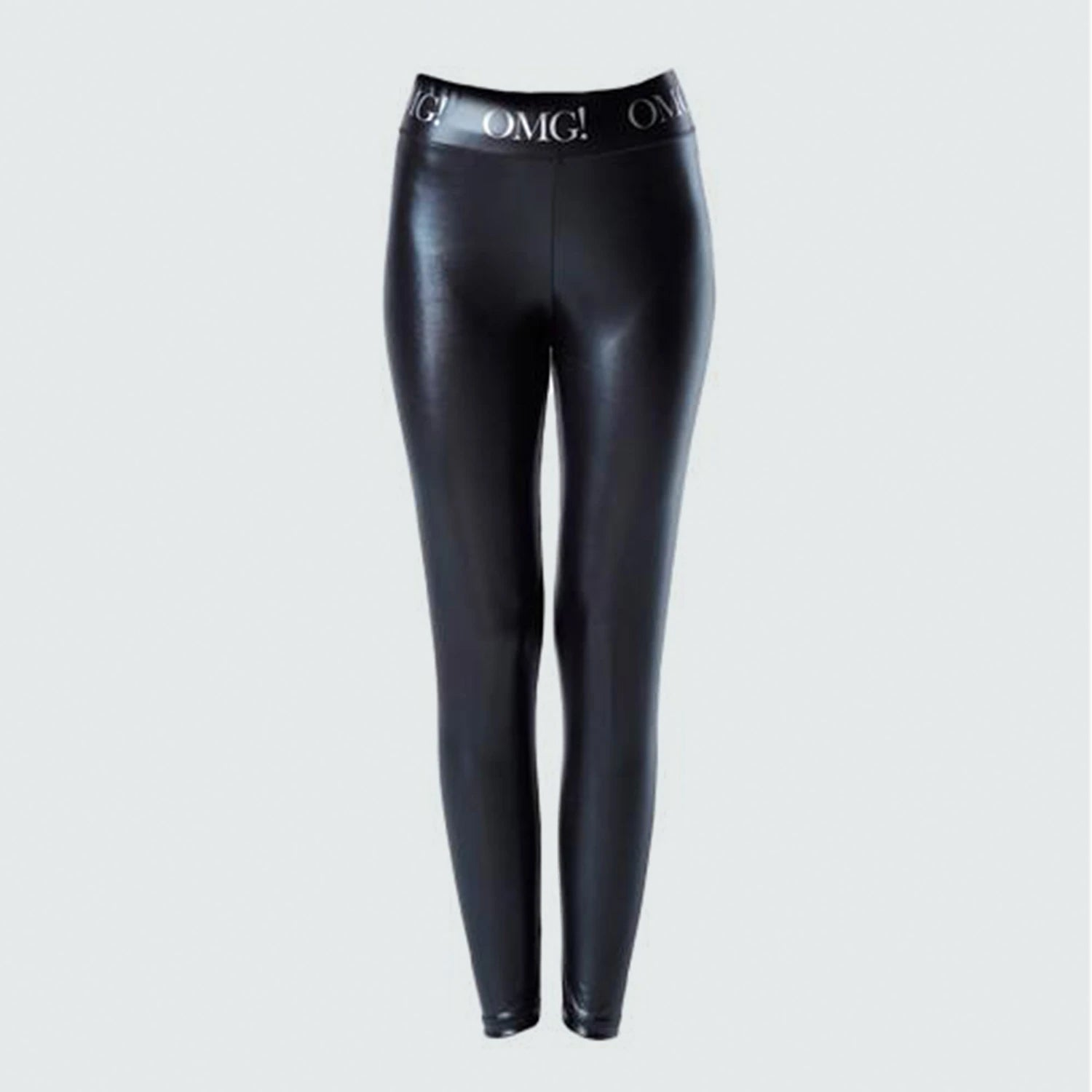 OMG! PLATINUM LEGGINGS - DOUBLE DARE