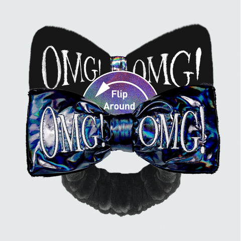 OMG! REVERSIBLE<br>MEGA HAIRBAND - DOUBLE DARE