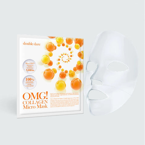 OMG! COLLAGEN <br>MICRO MASK - DOUBLE DARE