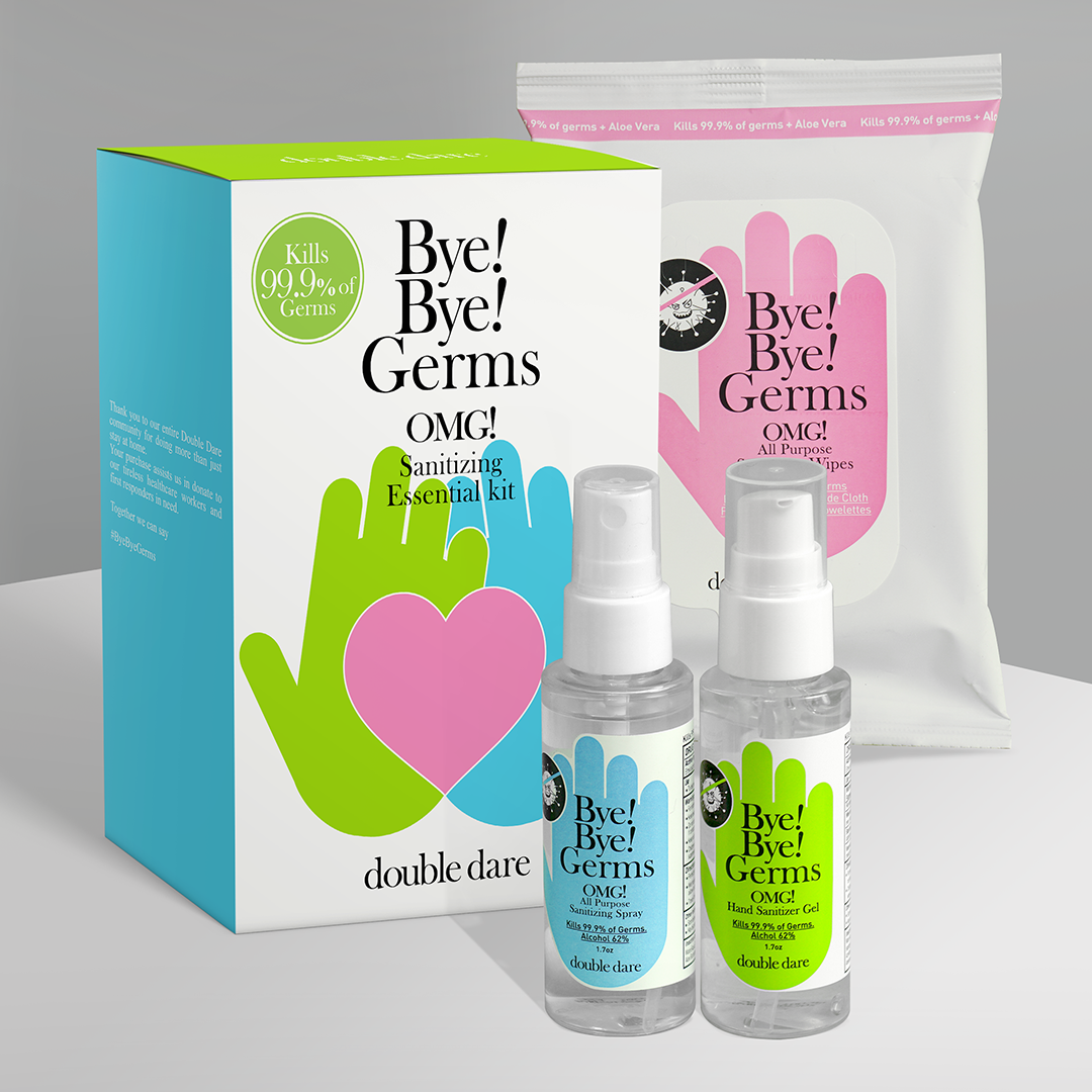 Bye! Bye! Germs OMG! Essential Kit (10% off limited offer) - DOUBLE DARE