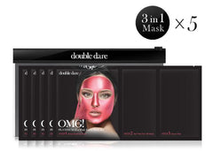 OMG! Platinum Hot Pink Facial Mask Kit - DOUBLE DARE