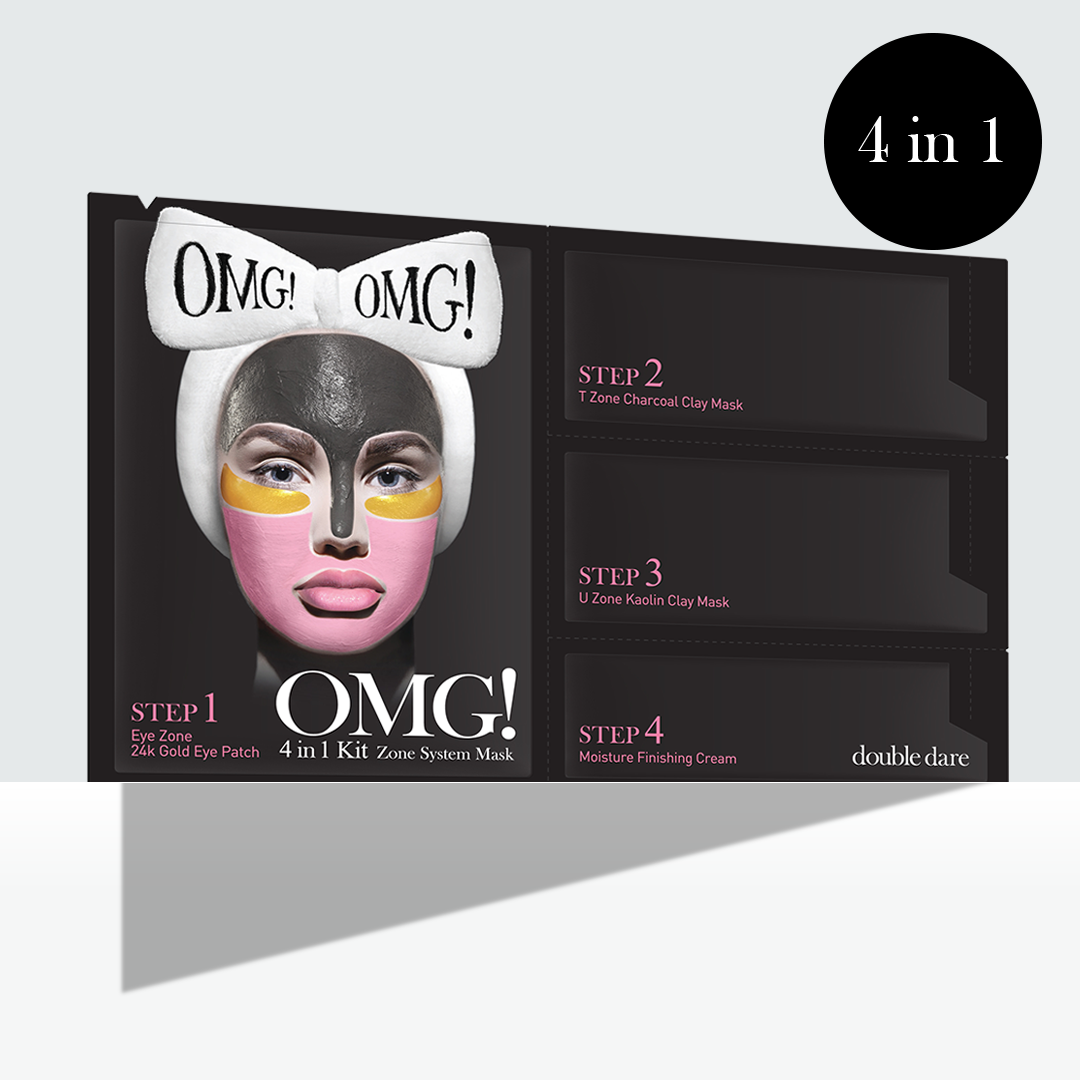 OMG! 4in1 KIT Zone System Mask - DOUBLE DARE