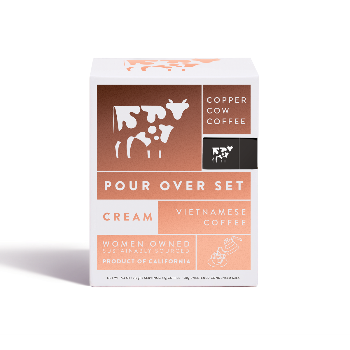Copper Cow Coffee - Coffee - 'The Classic' | 5-Pack - Offensive Mug
