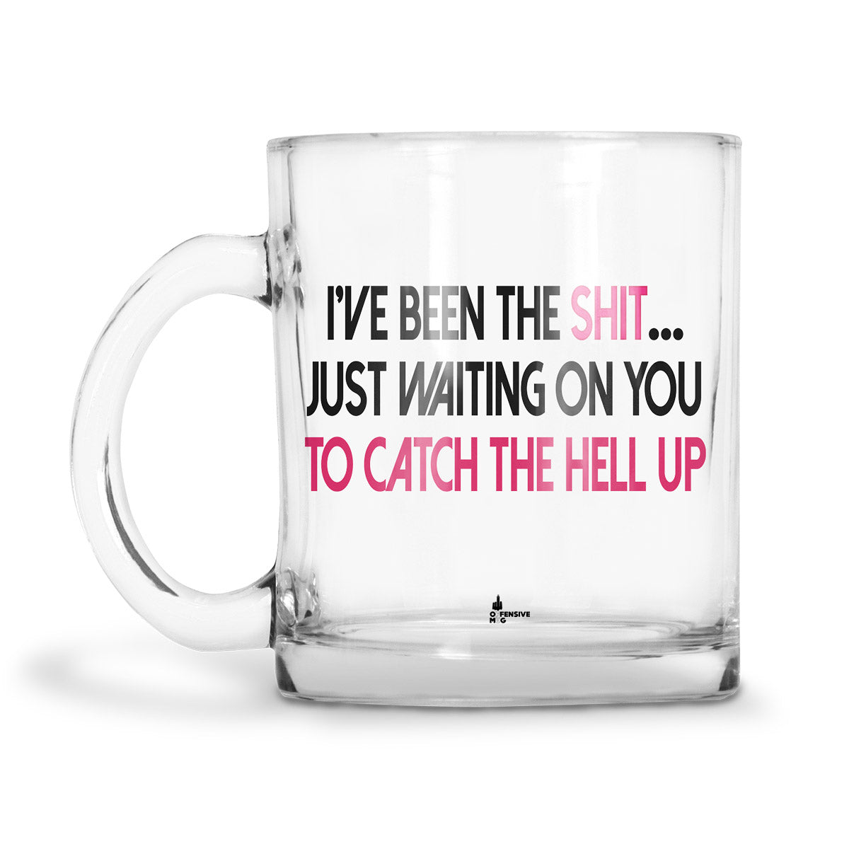 Alexia Glass Mug - Offensive Mug