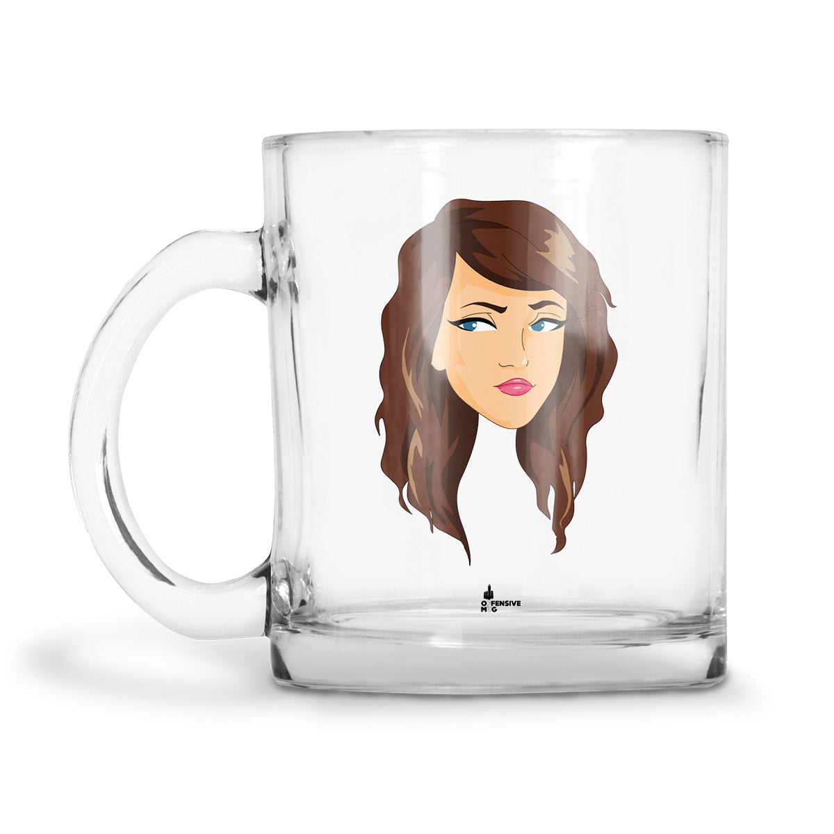 Becky Glass Mug - Offensive Mug