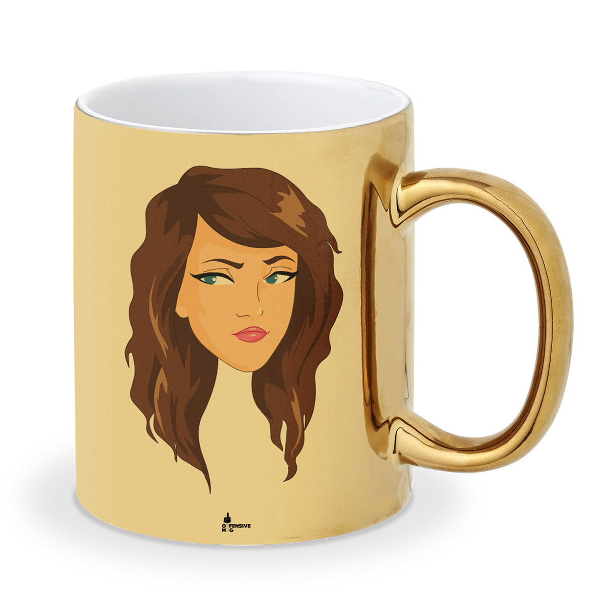 Becky Metal Plated Mug - Offensive Mug