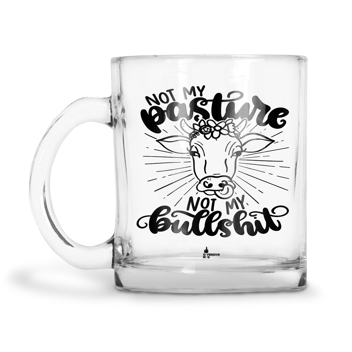 Diane Glass Mug - Offensive Mug