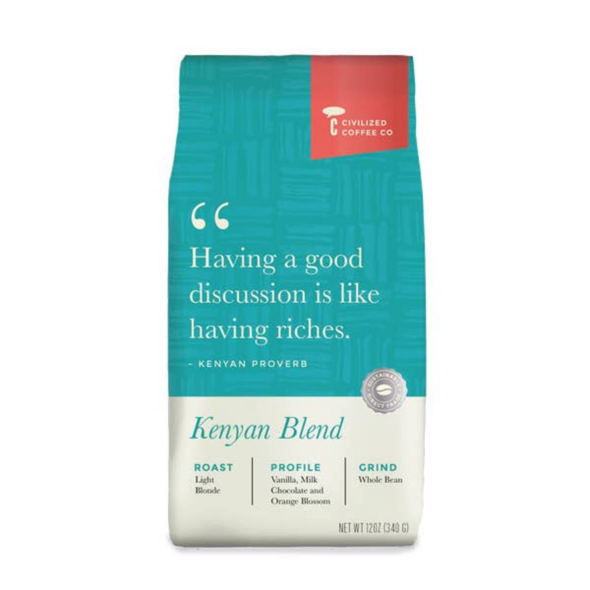 Kenyan Blonde Roast (Whole Bean Coffee) - Offensive Mug