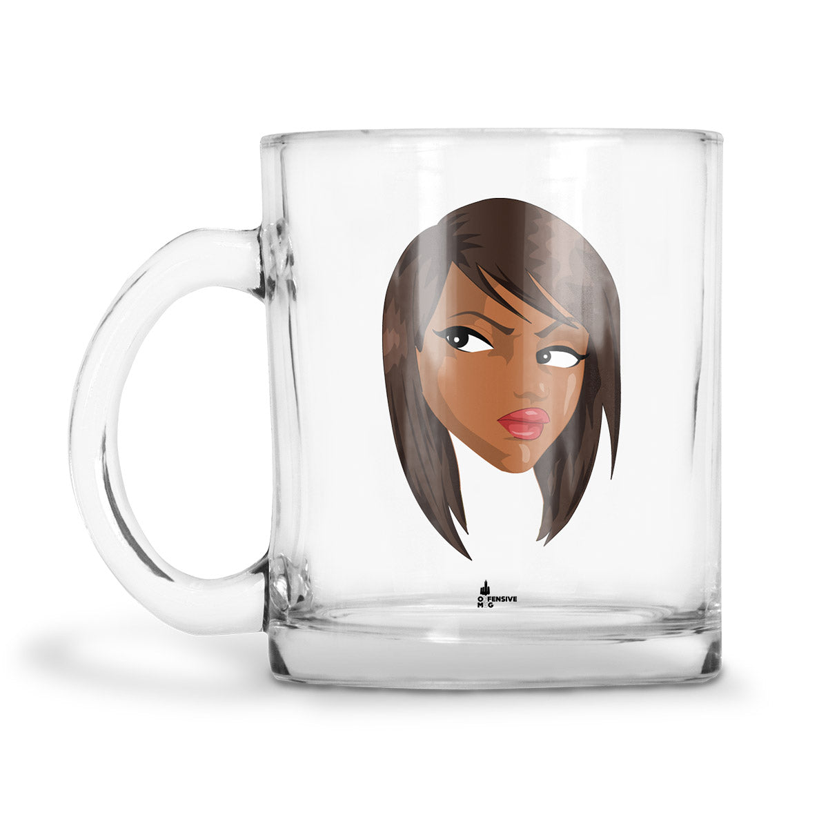 Kia Glass Mug - Offensive Mug