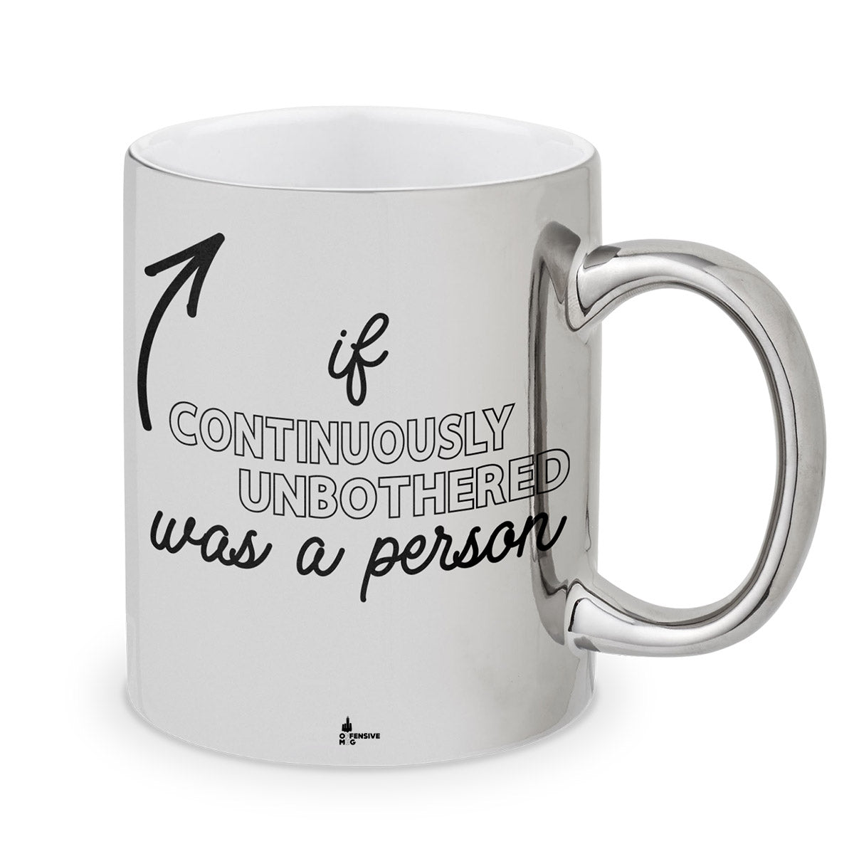 Nana Metal Plated Mug - Offensive Mug