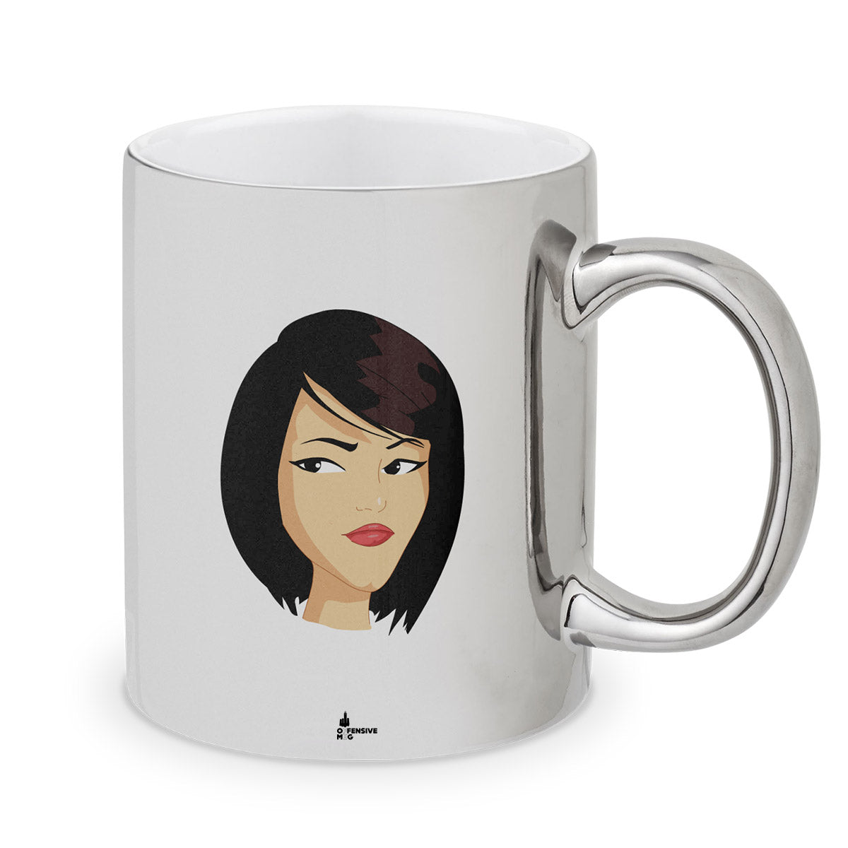 Soo Metal Plated Mug - Offensive Mug