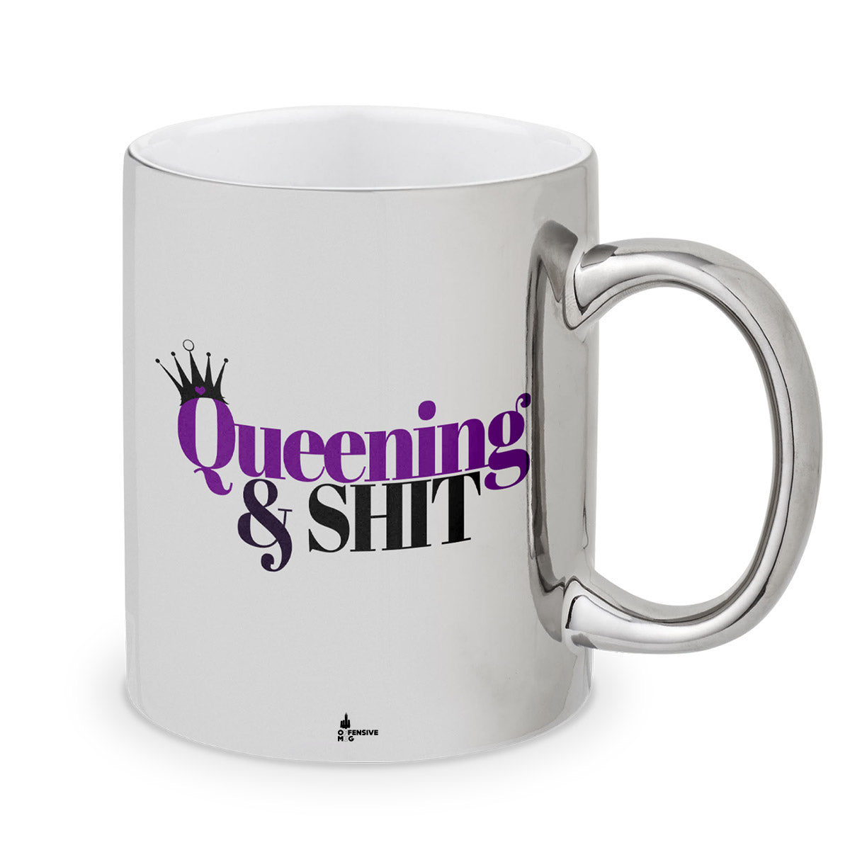 Ursula Metal Plated Mug - Offensive Mug