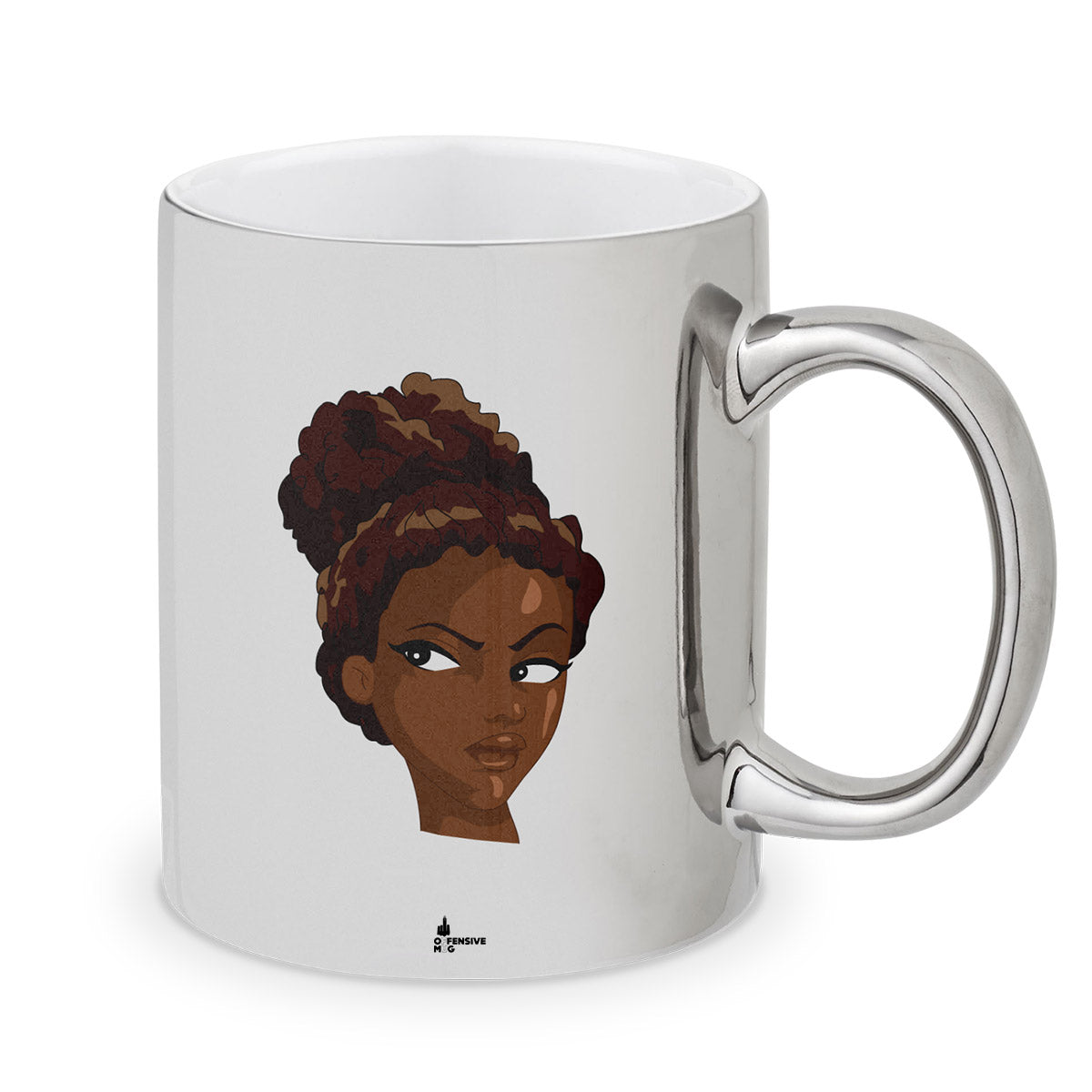 Yvette Metal Plated Mug - Offensive Mug