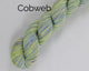 Cobweb Weight Organic & Fair Trade Cotton Yarn-Green, Purple, and White