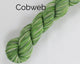 Cobweb Weight Organic & Fair Trade Cotton Yarn-Green, Grey, and Yellow