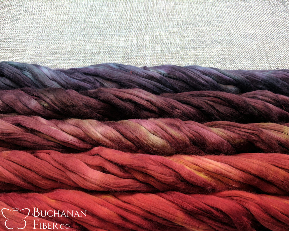 Cotton Sliver, Lava Flow - Buchanan Fiber Co.
