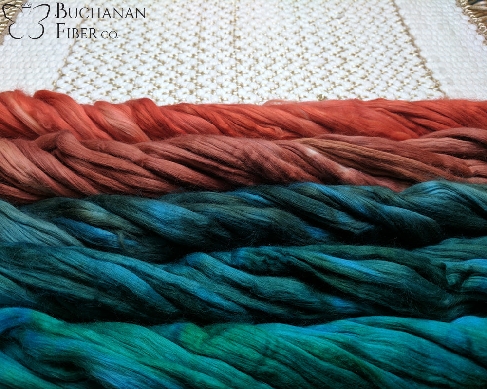 Cotton Sliver, Sunset Lagoon - Buchanan Fiber Co.