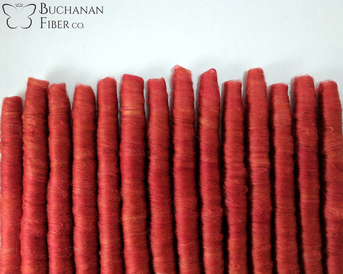 Cotton Punis, Cardinal Red - Buchanan Fiber Co.