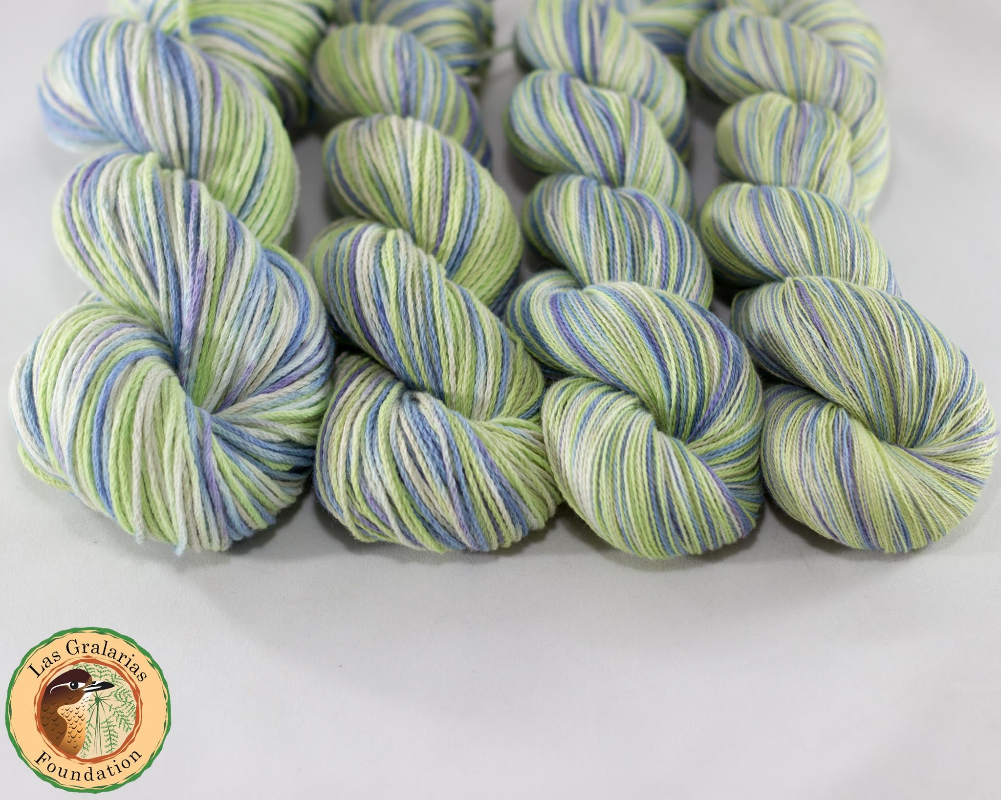 Cotton Yarn, Moonlit Glassfrog - Buchanan Fiber Co.