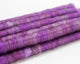 Cotton Alpaca Punis, Violet - Buchanan Fiber Co.