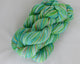 Organic & Fair Trade Cotton Yarn-Green, Teal, and Brown