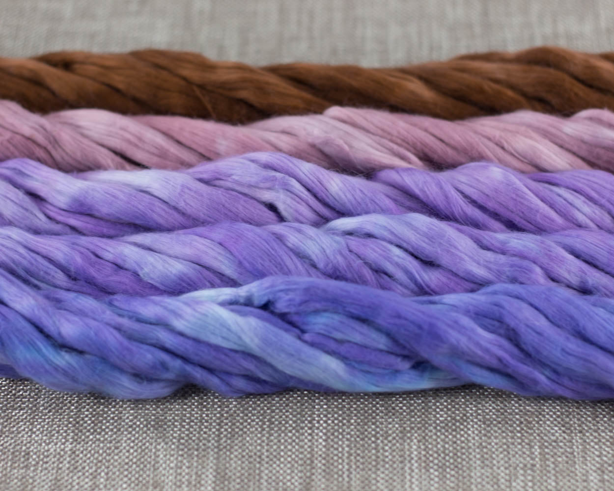 Cotton Sliver, Aster Fields - Buchanan Fiber Co.