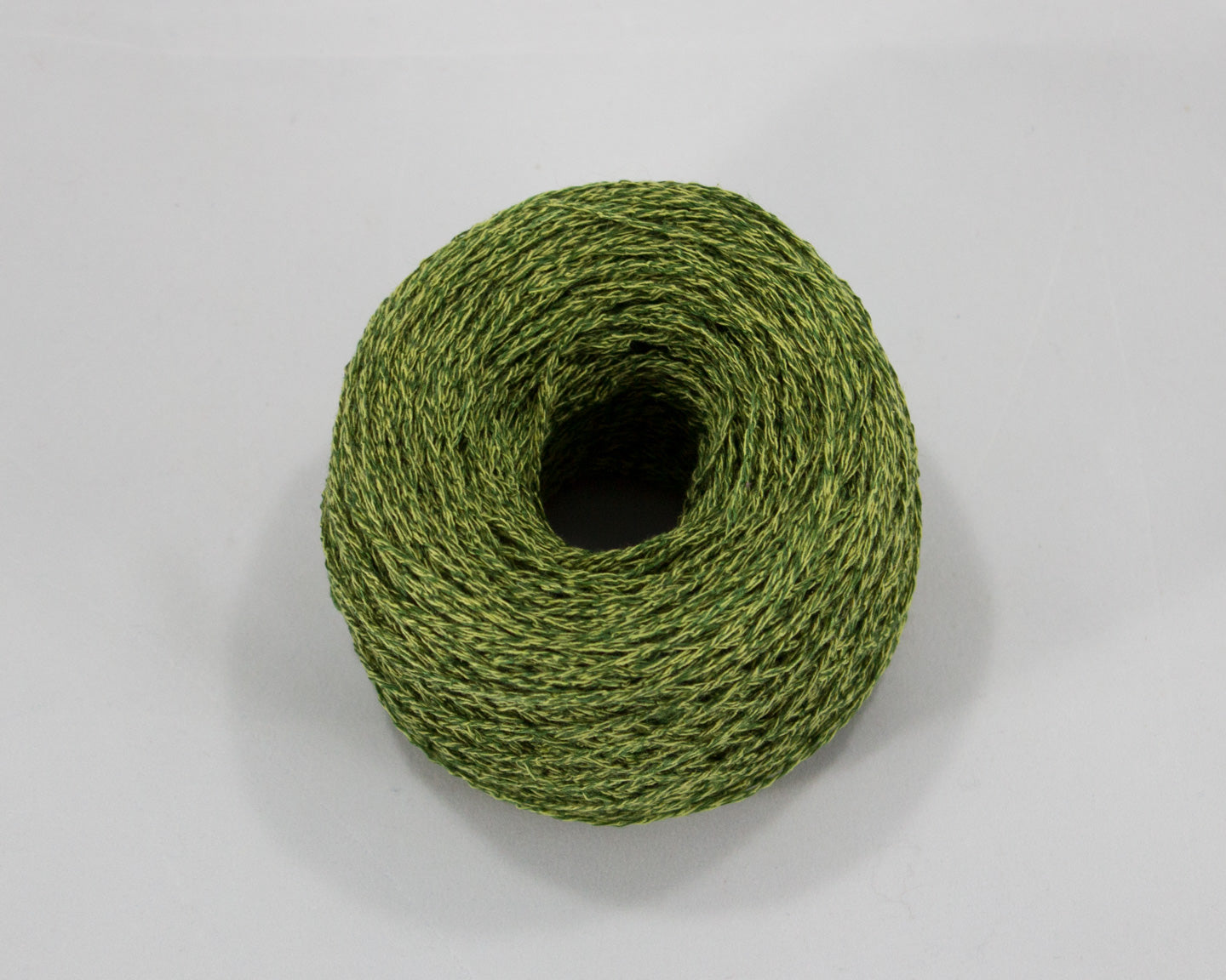 fingering weight linen/silk - Green