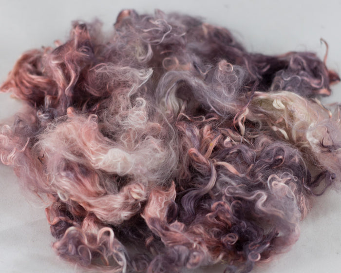 Suri Alpaca Locks, Joe Pye Weed - Buchanan Fiber Co.