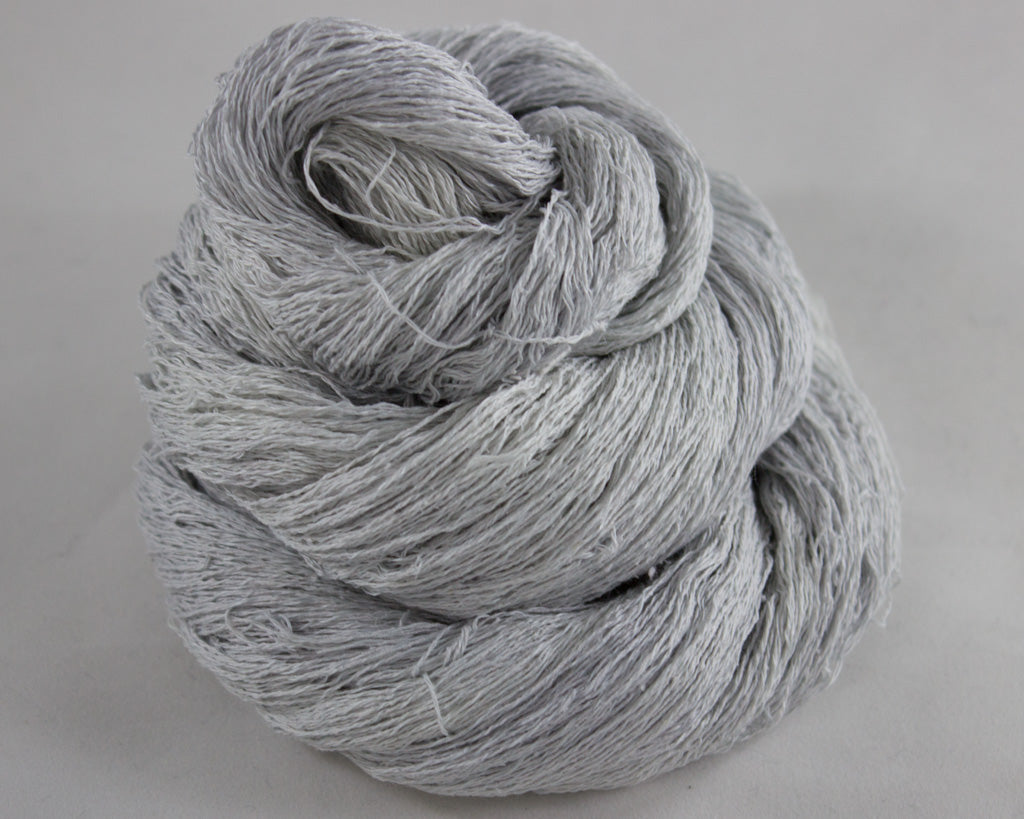 Lace Weight Linen/Silk yarn - grey