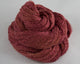 Lace Weight Linen/Silk yarn - red