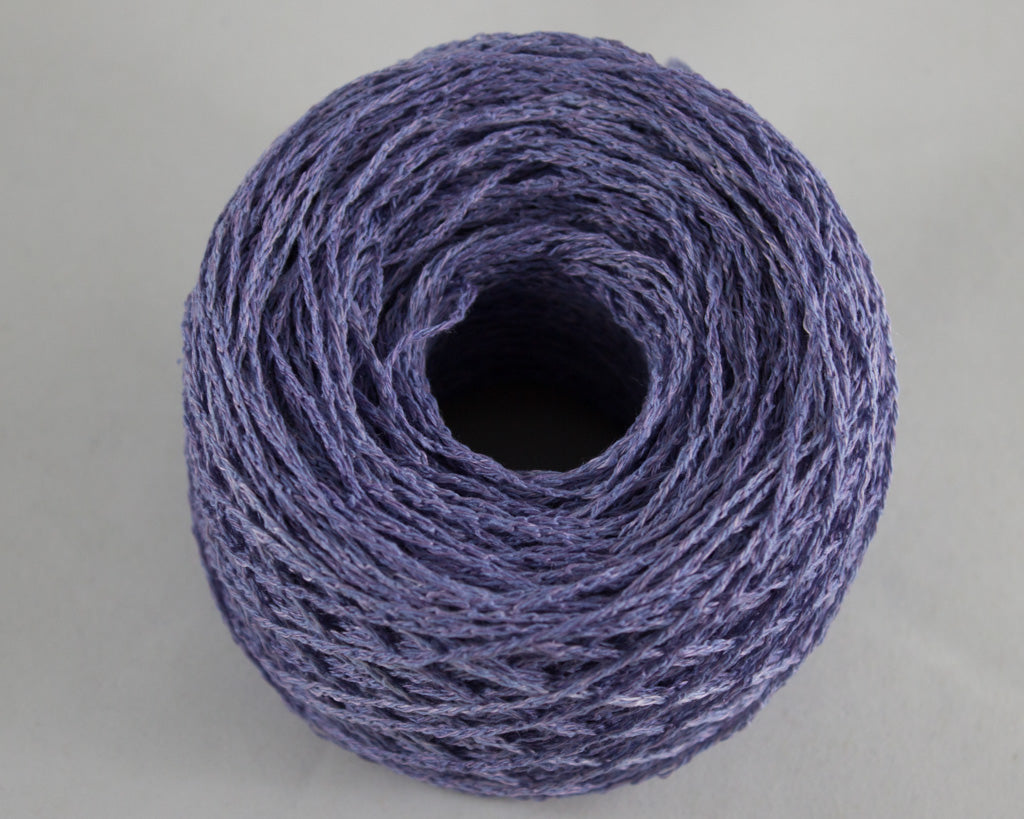 Fingering Weight Linen/Silk Yarn - Periwinkle