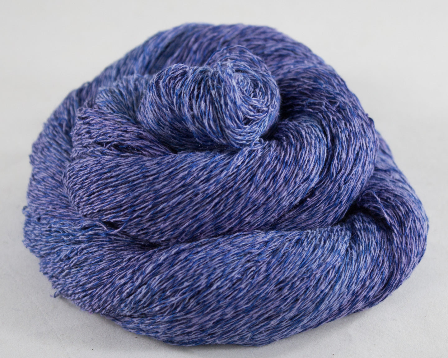 Lace Weight Linen/Silk Yarn - purple