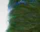 Rambouillet & Silk Batt - greens, blue and gold