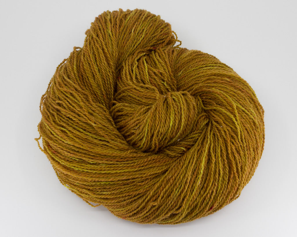 Fingering Weight Wool - gold