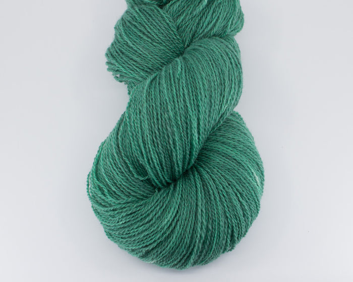 Fingering Weight Wool - dusty green