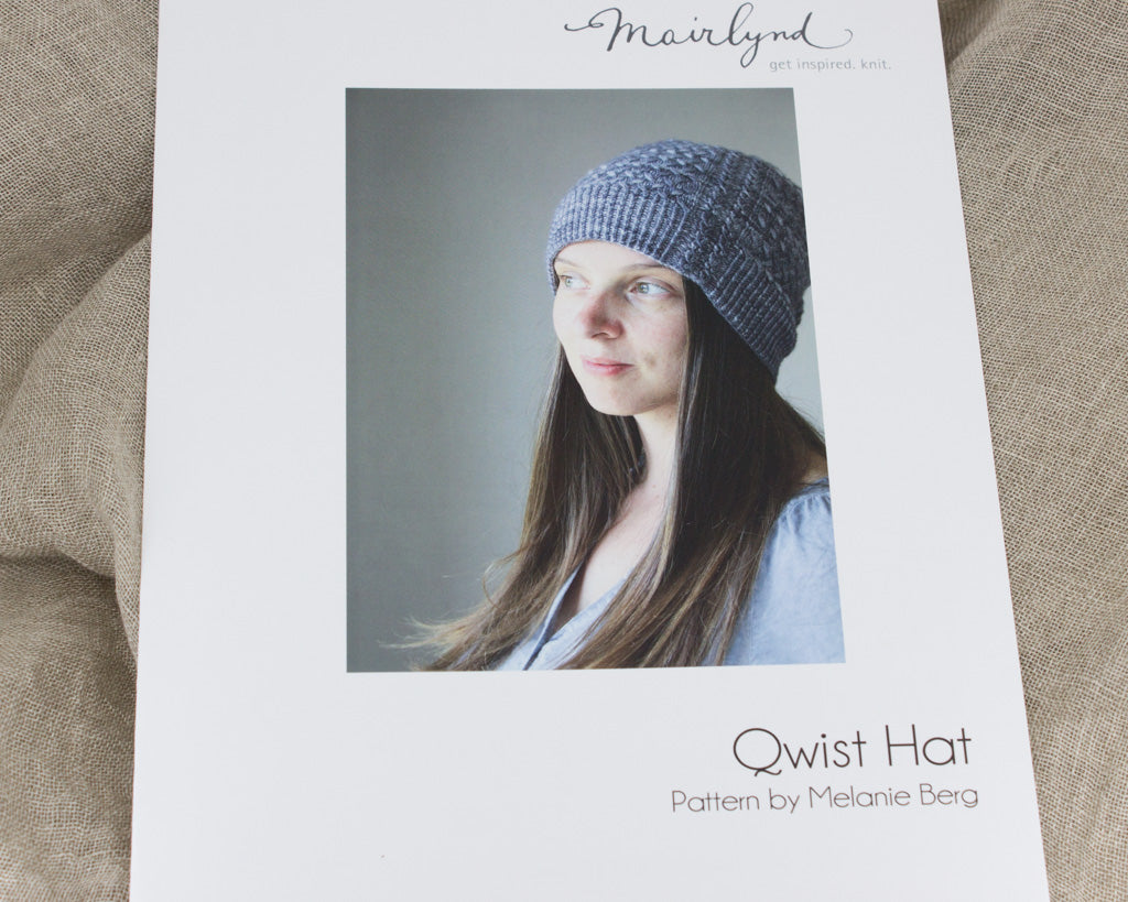 Print version of the Quist Hat by Melanie Berg