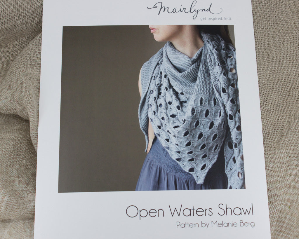 Physical Pattern of the Open Waters Shawl