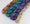 set of 4 hand-dyed cotton mini skeins of random yardage