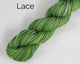 Lace Weight Organic & Fair Trade Cotton Yarn-Green, Grey, and Yellow