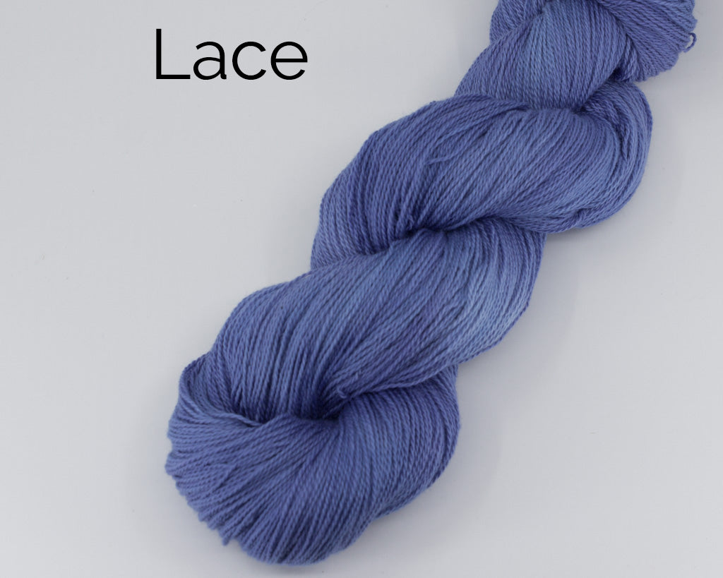 Organic & Fair Trade Cotton Yarn- blue purple