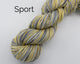 Organic & Fair Trade Cotton Yarn- yellow, greys, speckle