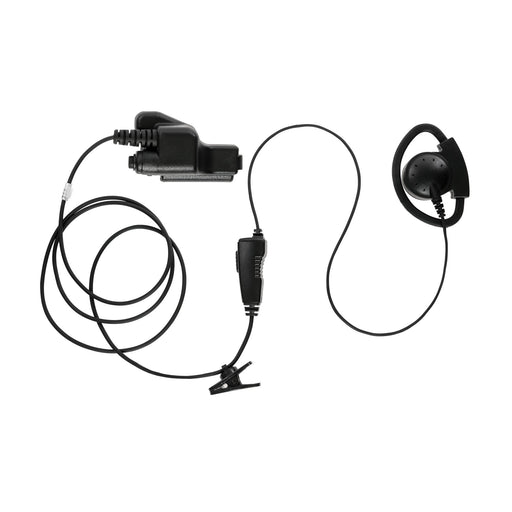 Maxtop AEH2000-E7 D-Sharp Earhanger Earphone for EF Johnson