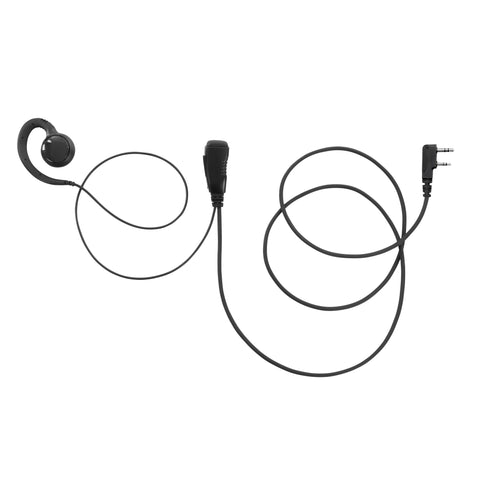 COMBINE-K2-CSHAPE C-Style Swievl Earpiece for Kenwood Two Way Radio