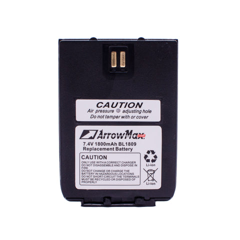 ArrowMax AHCL1809-1800-D Radio Battery