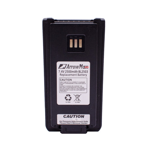 Maxtop AHCL2503-2500-D Radio Battery