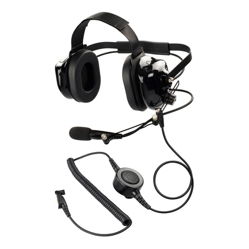 Maxtop AHDH0032-BK-H3 Two Way Radio Noise Cancelling Headset for Hytera HYT TC-3600 TC-3600M TC-710 TC-780