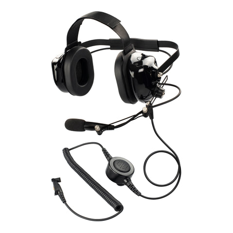 Maxtop PARENT-AHDH0032-H3 Two Way Radio Noise Cancelling Headset