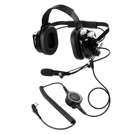 Maxtop AHDH0032-BK-H4 Two Way Radio Noise Cancelling Headset for Hytera HYT  TC-700 TC-610 TC-620 TC-510 TC-585 TC-500S